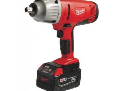 Milwaukee Impact Wrench — Round One