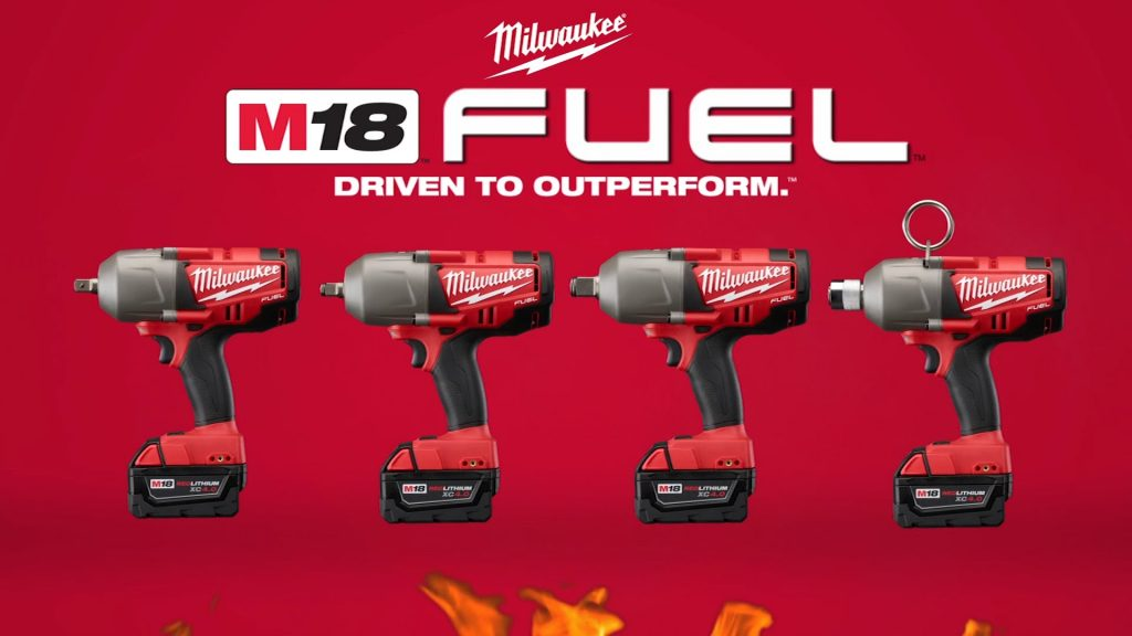 Milwaukee m18 FUEL cordless Impact wrench system