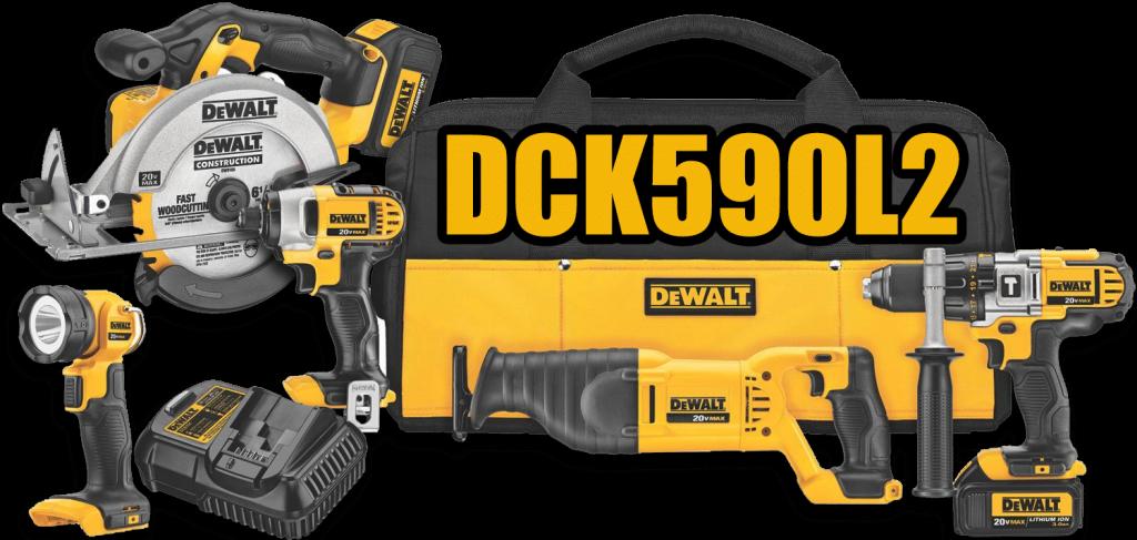 DeWalt 20v 5 Tool Combo Kit