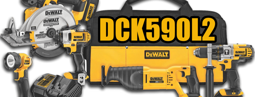 DeWalt 20v 5 Tool Combo Kit Review (DCK590L2)