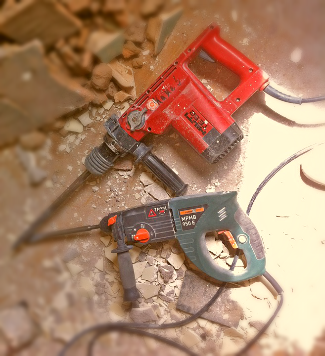 corded demolition hammers