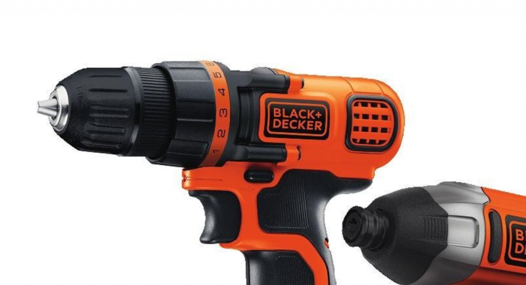 Black and Decker drill driver combo