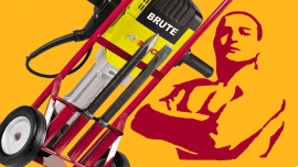 Be a Brute & Break It Up–With the Bosch BH2760VCB