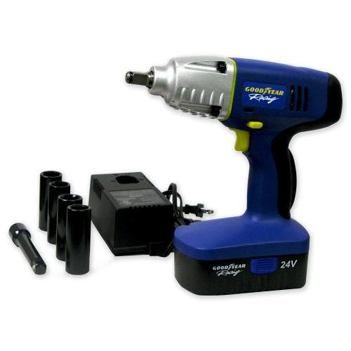 412BN2BiRj2JL Is it a 'Goodyear' for this 24V Cordless Impact Wrench? (review)