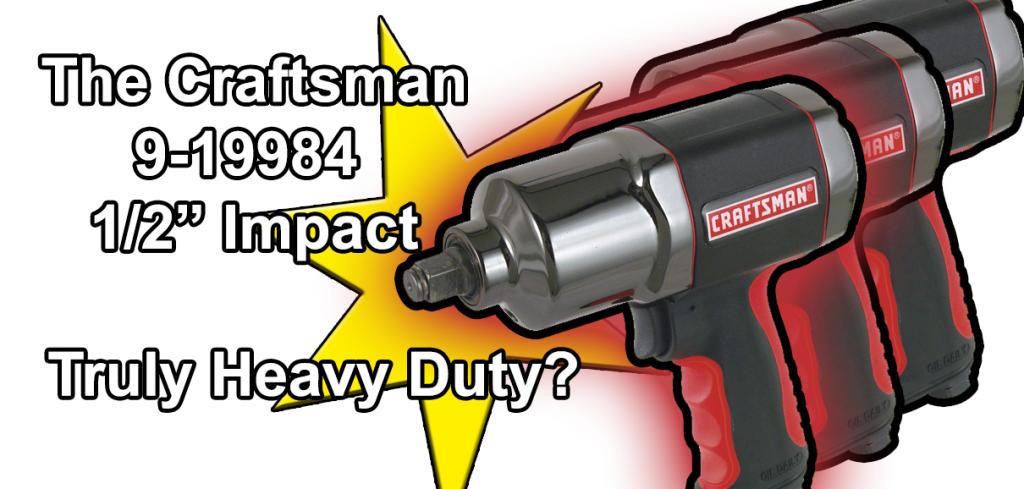 Craftsman 9-19984 Impact