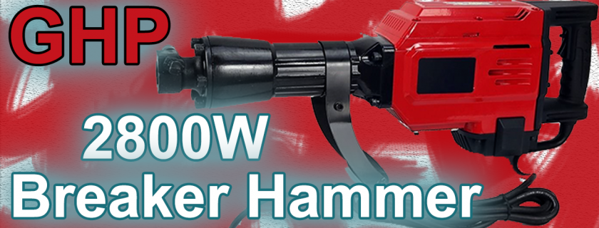 GHP 2800 Watt Jackhammer Review