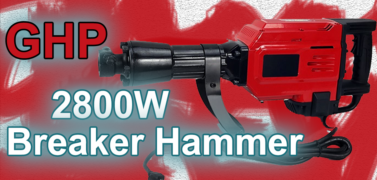 GHP 2800W Electric Demolition Hammer review