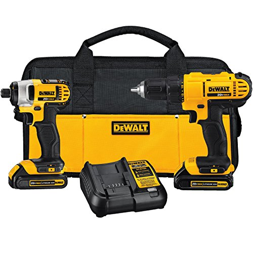 51oclFamNL DEWALT DCK240C2 20v Lithium Drill Driver/Impact Combo Kit Review