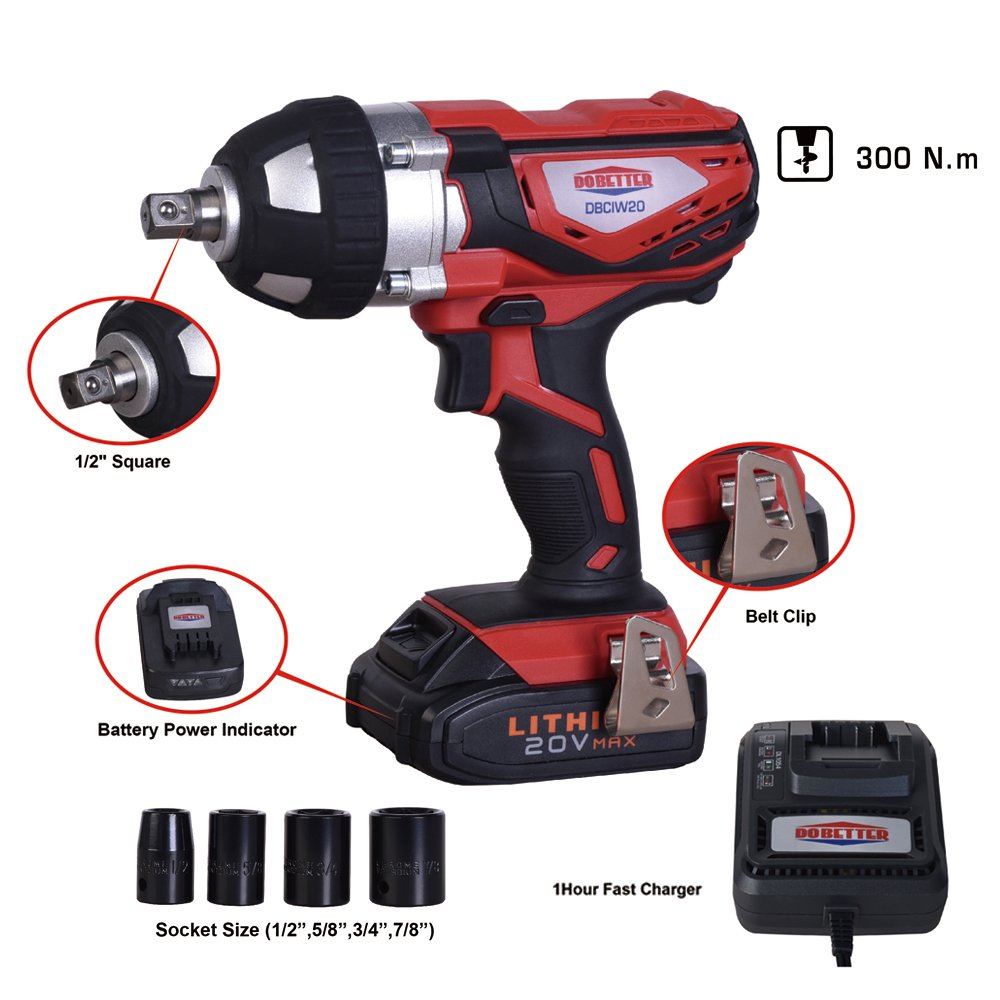 61cwSuA39oL The Quintessential Impact Wrench Buying Guide - Cordless & More