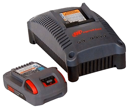 ingersoll-rand-20v-battery-and-charger WG King of the Cordless Ratchet Wrenches - Part 4: Ingersoll-Rand R1120-K1