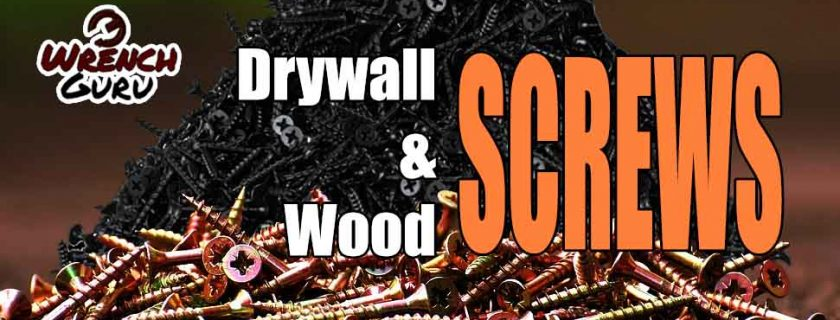 Are Wood Screws and Drywall Screws the Same?