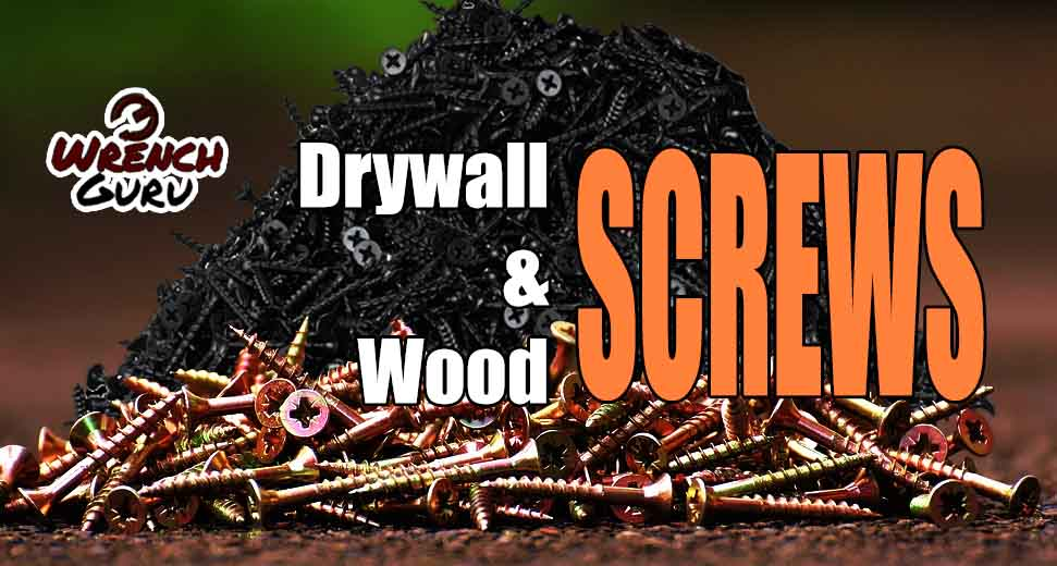 are woodscrews and drywall screws the same