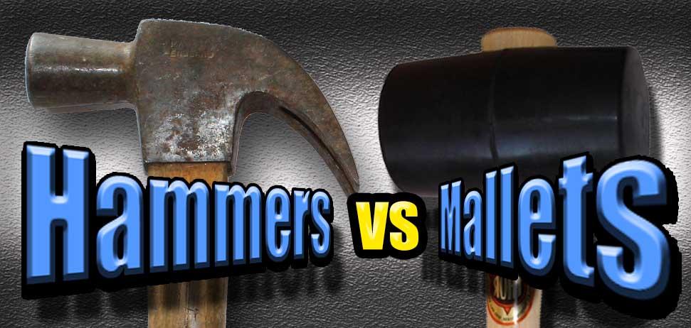 hammers vs mallets - what is the difference