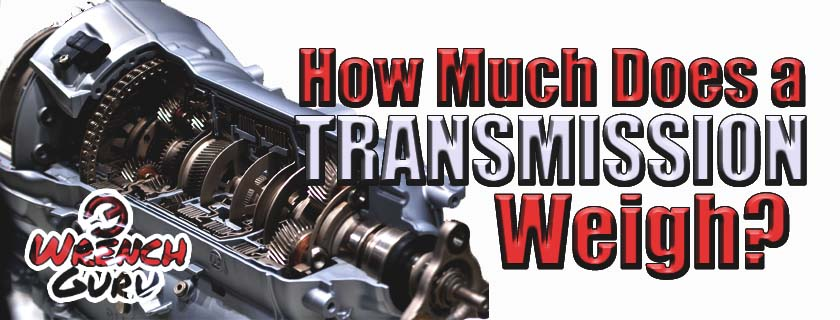 how much does a transmission weigh